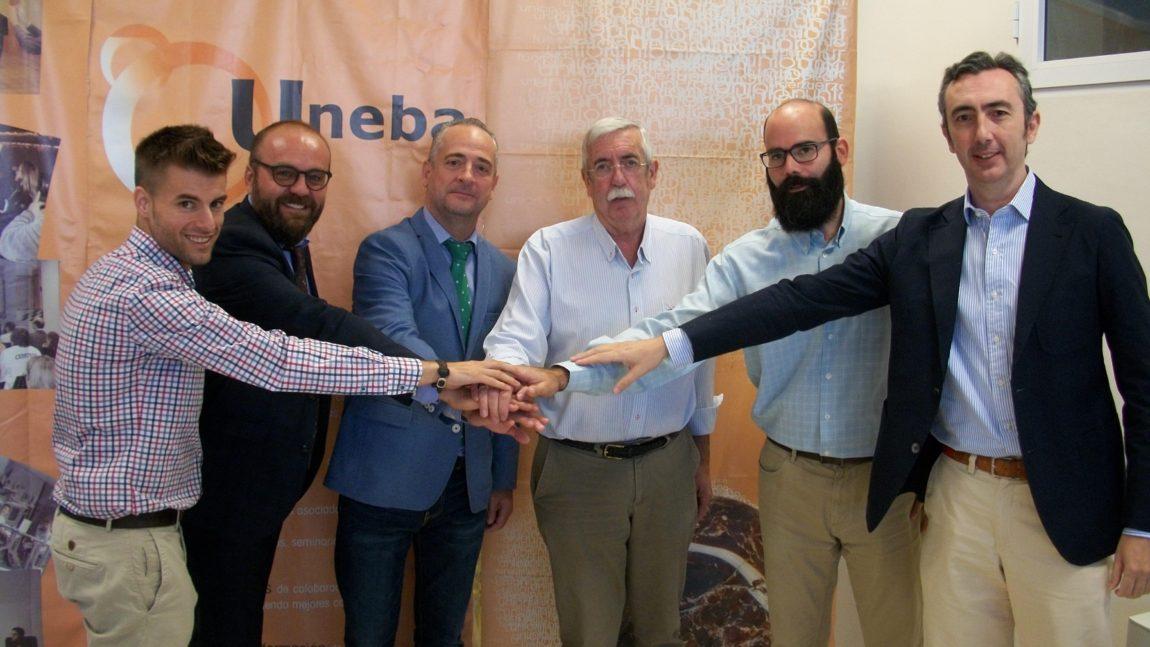 Convenio entre Grupoasesores y la Unión de Empresarios de Baena (UNEBA)